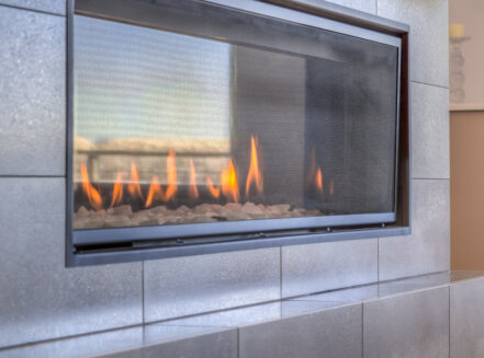 indoor gas fireplace service