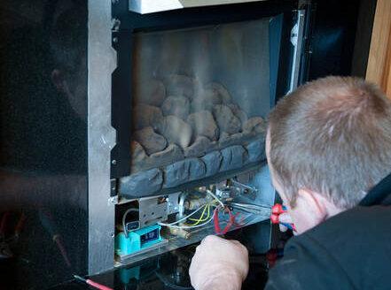 fixing gas fireplace boston ma